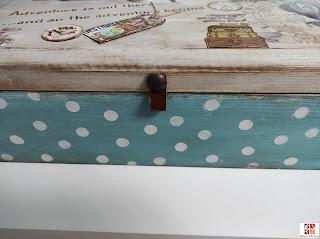 pintar y decorar una caja de madera