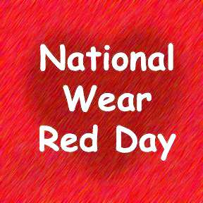 National Wear Red Day Wishes Beautiful Image