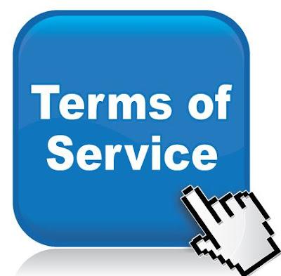 Cara Lengkap Buat TOS (Terms Of Service) Di Blog
