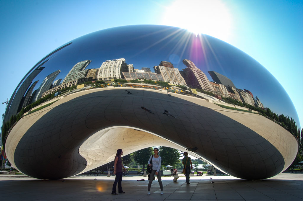 Chicago The Bean Cloud Gate