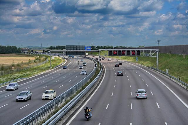 Viagem de carro de Frankfurt até Munique