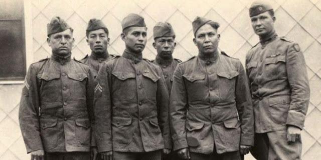 Indian Amerika dalam Perang Dunia I