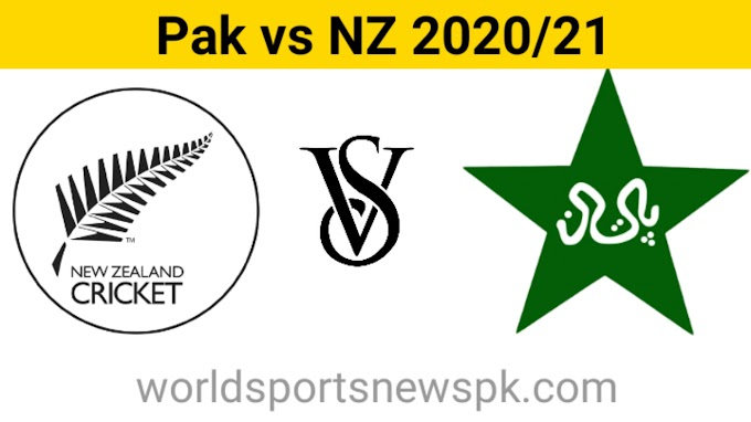 Pakistan Cricket Schedule Upcoming T20, Odi, and Test : Pakistan vs New Zealand 2020/2021 〄〄