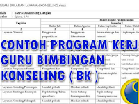 Download Program Kerja Guru Bimbingan Konseling ( BK ) Kurikulum 2013