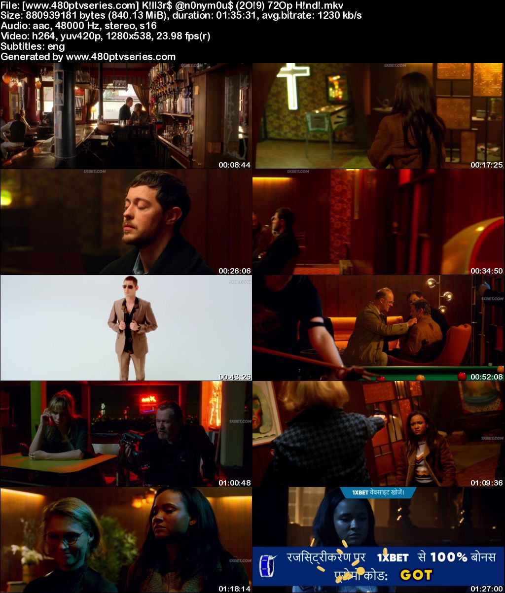 Download Killers Anonymous (2019) 850MB Full Hindi Dubbed Movie Download 720p HDRip Free Watch Online Full Movie Download Worldfree4u 9xmovies
