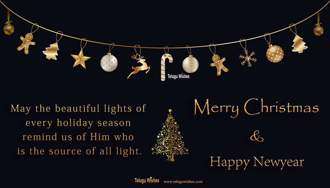 Happy Christmas quotes images