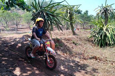 Arena sirkuit mini trail di Banaran 9 Resort