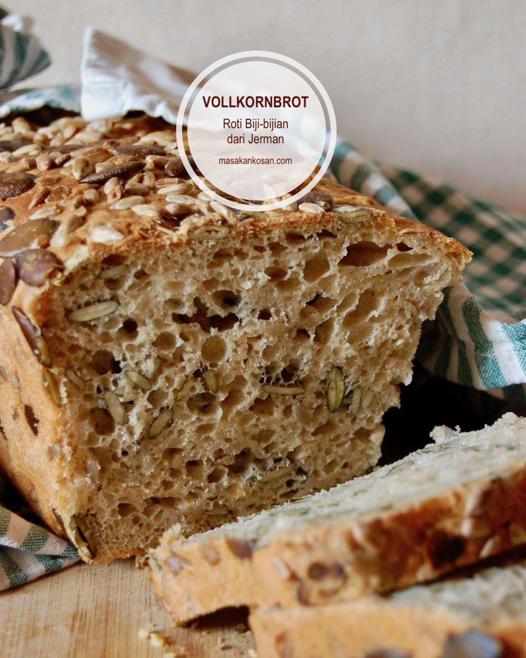 Vollkornbrot, Roti Biji-Bijian penuh gizi