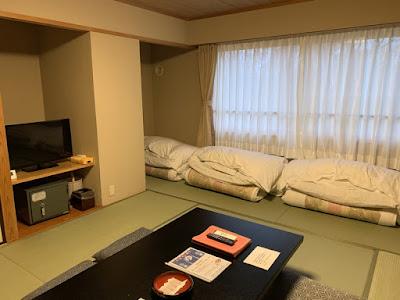 新玉川温泉 11畳和室