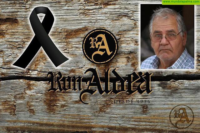 Destilerias Aldea está de luto por el fallecimiento de Don José Manuel Quevedo
