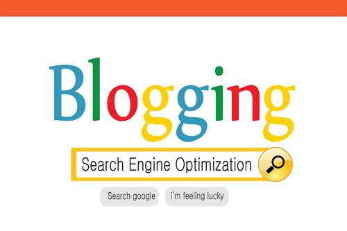 lady blogging