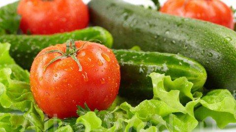 Cách chọn dưa leo cà chua an toàn