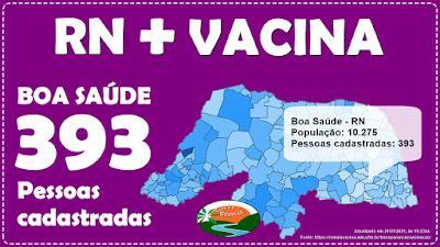 Quase 400 boasaudenses já se cadastraram para tomar a vacina