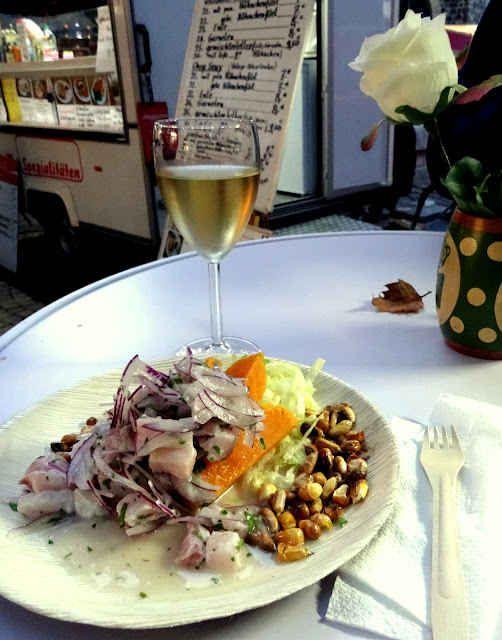 Ceviche at the Meet & Eat Cologne