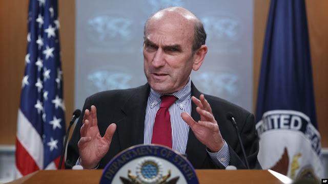 EE.UU: Elliot Abrams: gobierno americano no llevó al exjefe del Sebin venezolano, pero están contento de que este en USA.