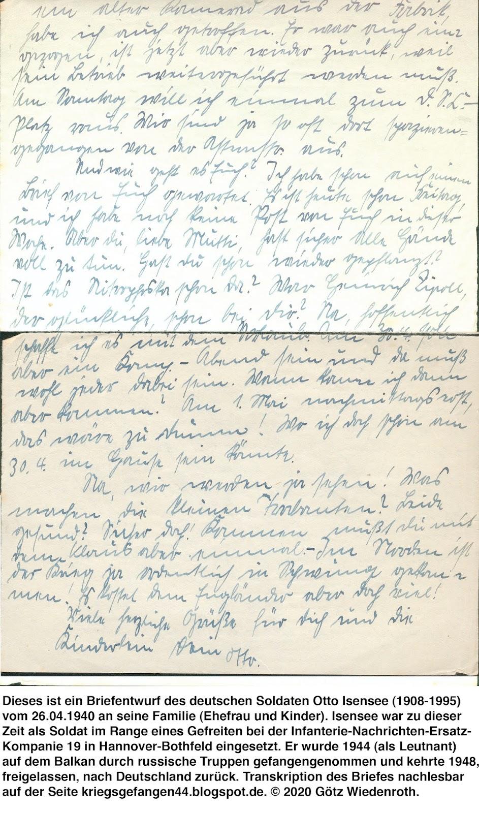 Exkurs Wehrmachtfahrscheine Des Tagebuchverfassers Von 1943 Und