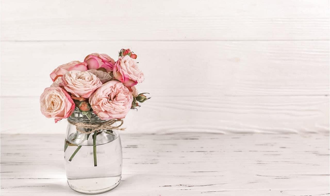 Agua de Rosas para el cabello