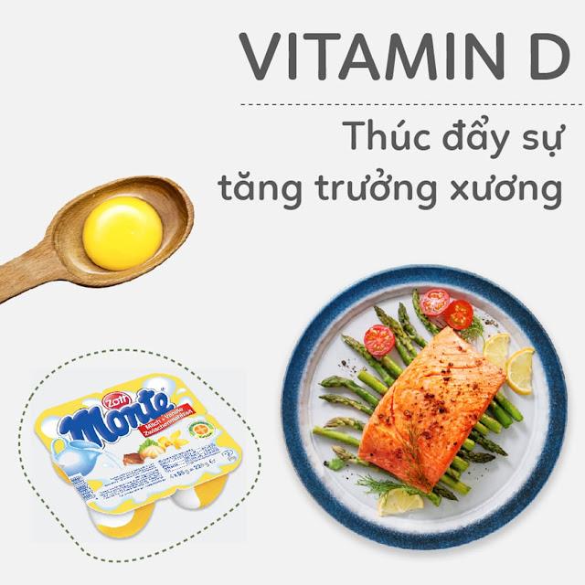 Hướng dẫn Mẹ Bầu bổ sung Vitamin D - Thúc đẩy sự tăng trưởng xương