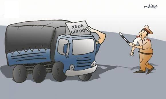 Cảnh sát giao thông Đồng Nai bảo kê xe quá tải, nếu đúng như thế thì là một ngành thối nát nhất xã hội