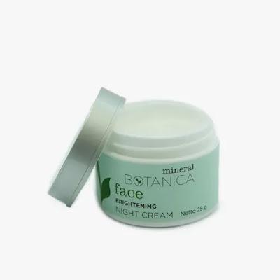 Mineral Botanica Night Cream