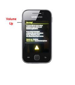 Flashing Samsung Y GT-S5360 via Odin