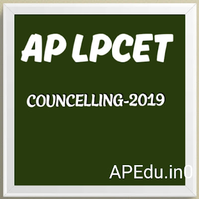 APLPCET COUNCELLING-2019