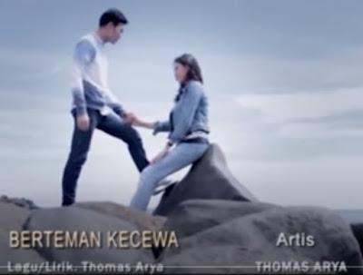 Lirik Lagu Pof Malaysia Thomas Arya - Berteman Kecewa