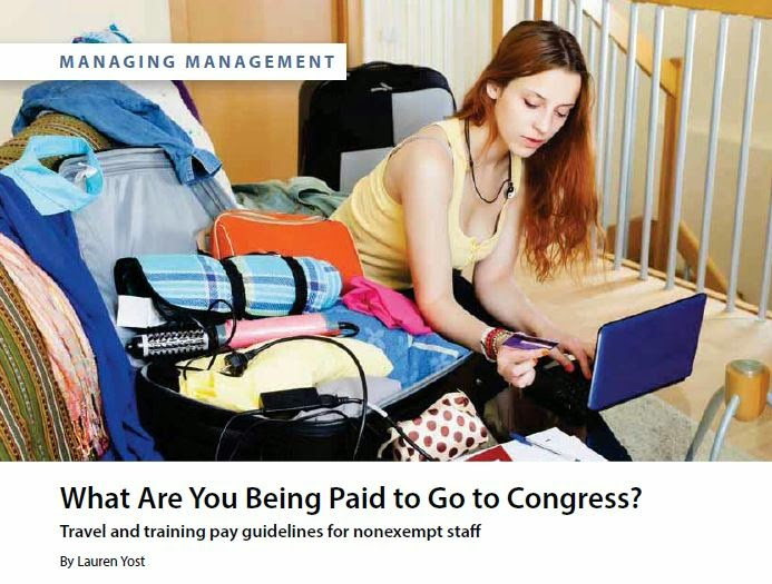 What are You Being Paid to Go to Congress by Lauren Yost