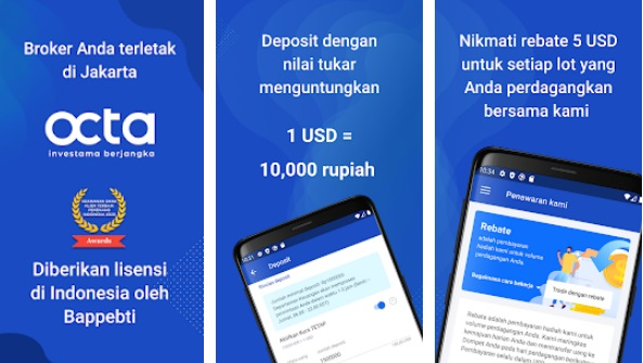 Aplikasi Octa Investama