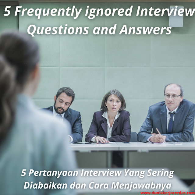 5 Frequently ignored Interview Questions and Answers