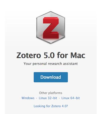 Piliha Aplikasi Zotero Sesuai Sistem yang dipakai