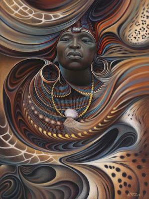 Kadans lespri fran ginen Lafrik ak Ayiti | Zèv Atis Ricardo Chavez-Mendez - African Spirits