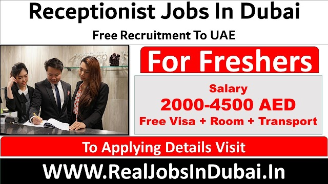 Receptionist Jobs In Dubai  UAE