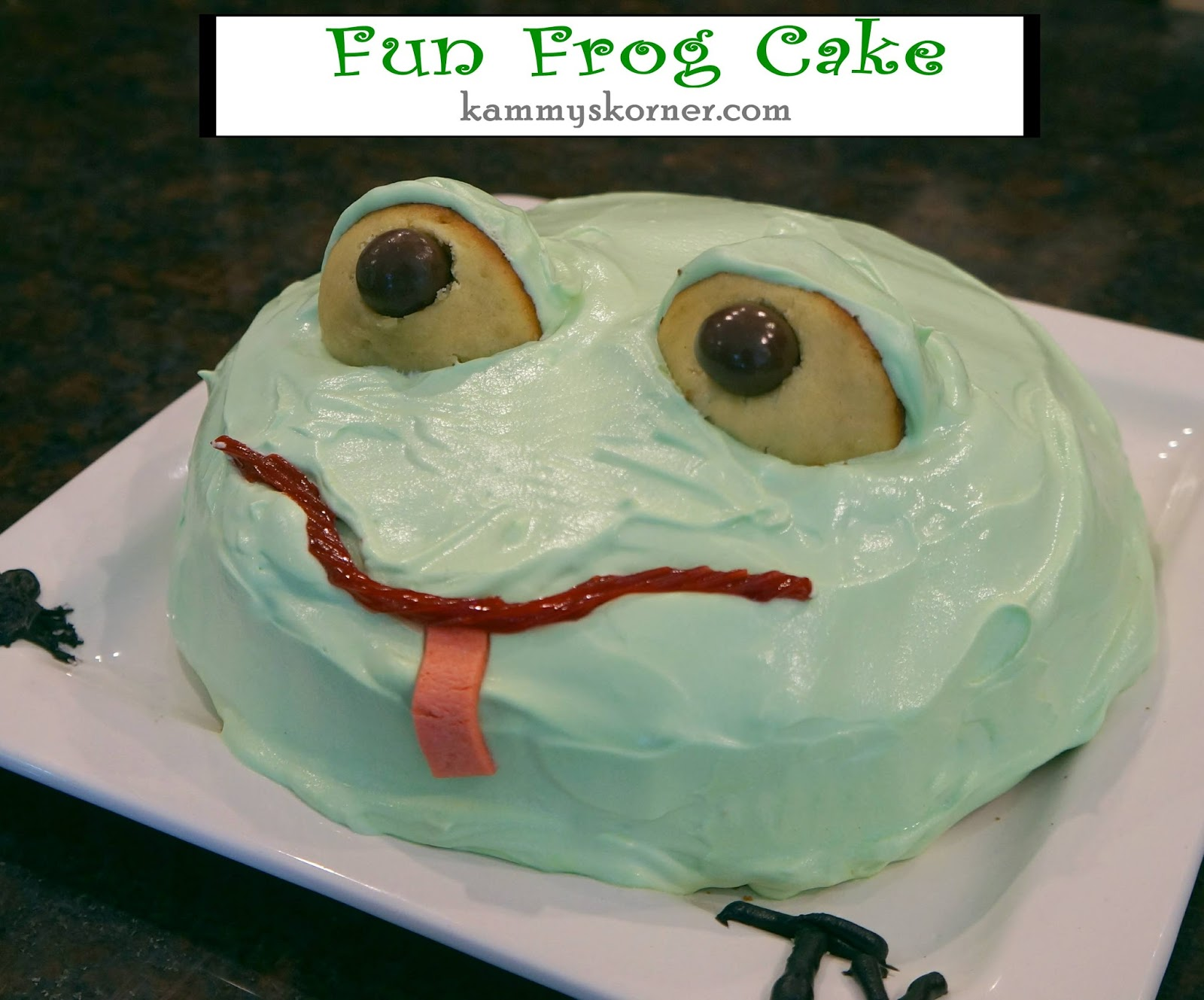 My Little Ty Guy Turned Seven This Summer He Is All Things Frogs Snails Hammers And Nails So Of Course It Was Fitting To Make Him A Froggy Cake
