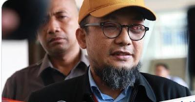 2 polisi aktif pelaku penyiraman Novel Baswedan, fadli zon minta dalangnya ditangkap juga