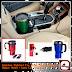Stainless Elektrict Car Mug/ Mug Pemanas Dalam Mobil/ Auto Car Heating