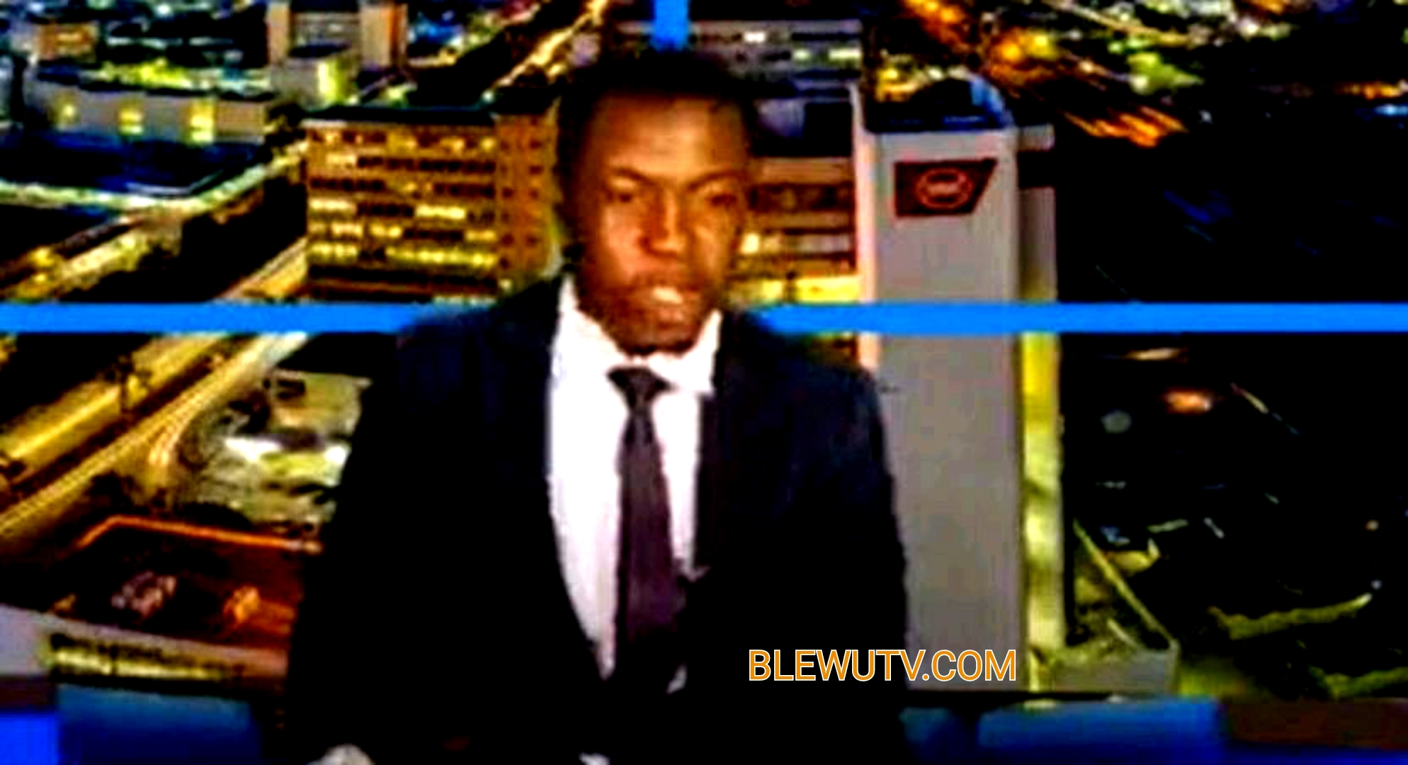 """Angry news anchor pauses live TV report to demand salary, says """"we're human beings"""""""