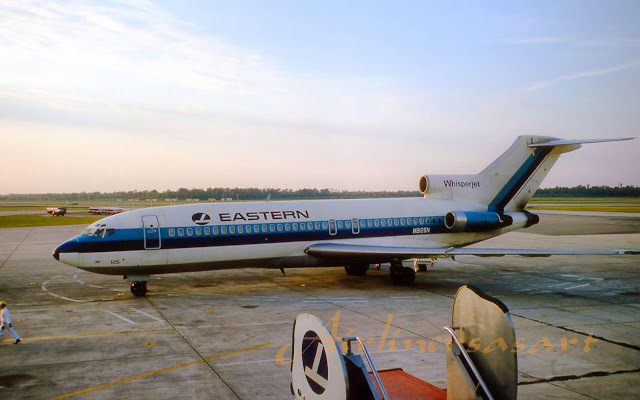 Boeing 727 N8125N Eastern Airlines
