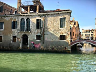 Ca' Banksy in Venice - Photo: Cat Bauer