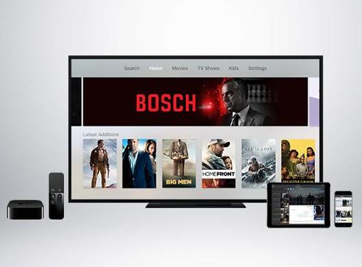 Application ICFLIX sur Apple TV