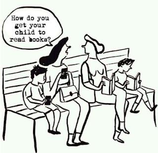 mendidik anak anak dengan smartphone dan buku