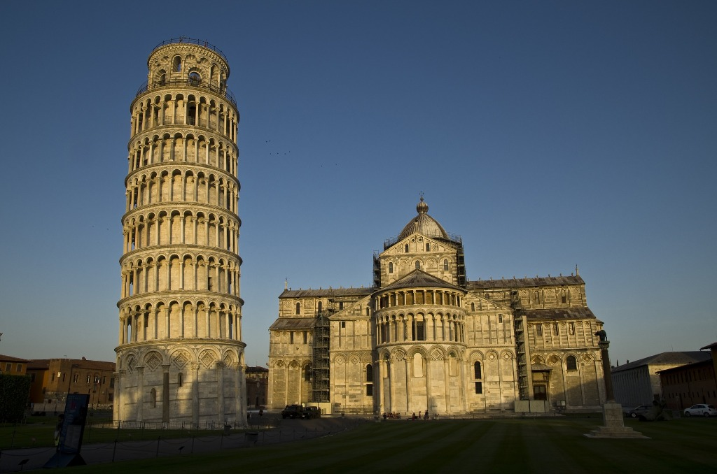 leaning tower of pisa facts