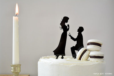 Anniversary Cake, Wedding Cake, Wedding Cake Topper, Chocolate Cake, Black and White Cake, French Macarons, Macarons, Chocolate and Vanilla Cake, Vanilla Buttercream