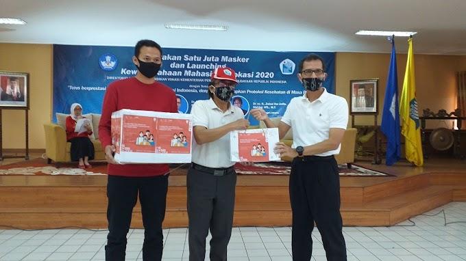 PNJ Tuan Rumah Launching Gerakan Sejuta Masker dan Kewirausahaan Mahasiswa