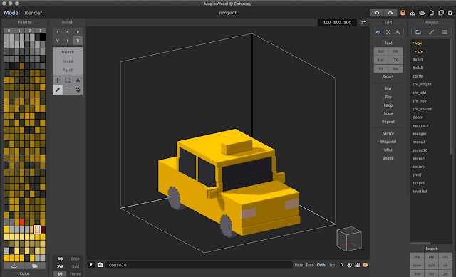 Use MagicaVoxel to Convert 3D Models into Voxels