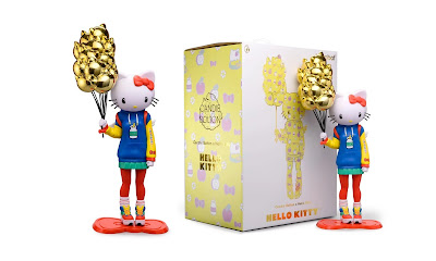 "Hello Kitty 20"" Nostalgic Edition Vinyl Art Figure by Candie Bolton x Kidrobot x Sanrio"