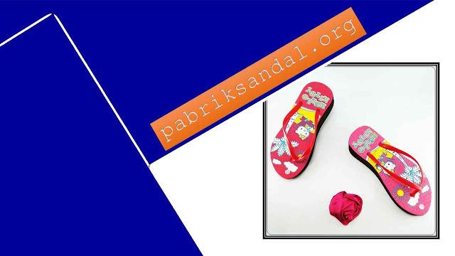 Pabrik Wedges Terbaru dan Terlaris- Sandal HK Tebal Wanita