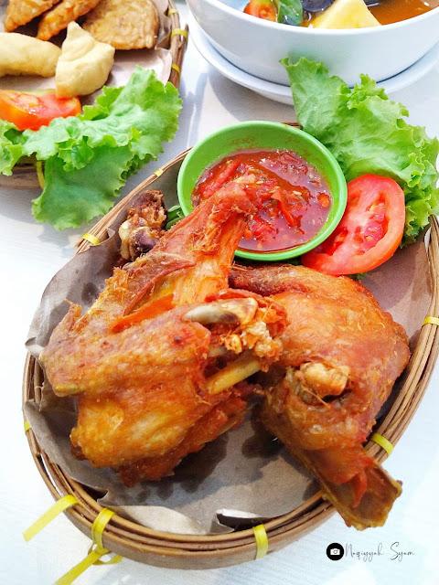 Ayam Bakar di Pindang Obin Lampun