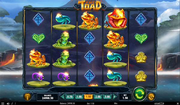 Main Gratis Slot Indonesia - Fire Toad Play N GO