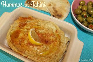 Hummus - Middle-Eastern Chickpea Dip